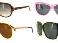 Gafas de sol de colores fluorescentes