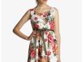 Vestido corto de fiesta Formula Joven de flores