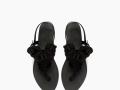 Sandalias de piel con borlas