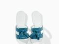 Sandalias de pala con borlas