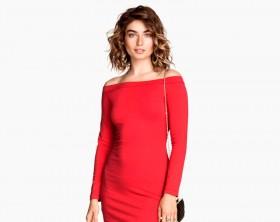 H&M nos muestra el atractivo del color rojo