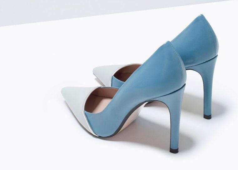 Zapatos de sal n zara en dos colores lovely moda - Colores de moda para salones ...