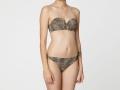 Bikini bandeau de leopardo