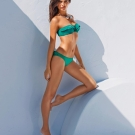 Bikini Calzedonia verde con volantes Dream Feel Love