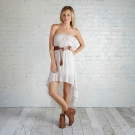 Vestido largo de la colección femenina Adam Levine