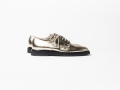Zapatos Oxford plateados Common Projects
