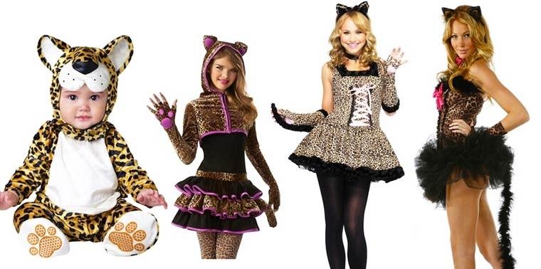 Evolución de los disfraces de Halloween tigresas