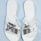 Sandalias de pala de baño cruzadas