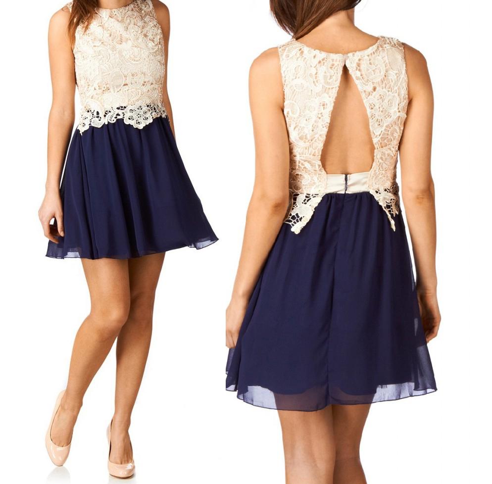 Vestidos de fiesta cortos para una boda de verano