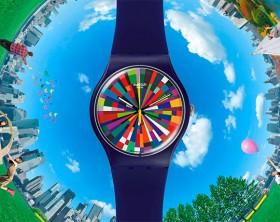 Dale color al otoño con la colección de relojes Swatch
