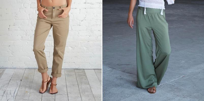 Pantalones de la colección femenina Adam Levine