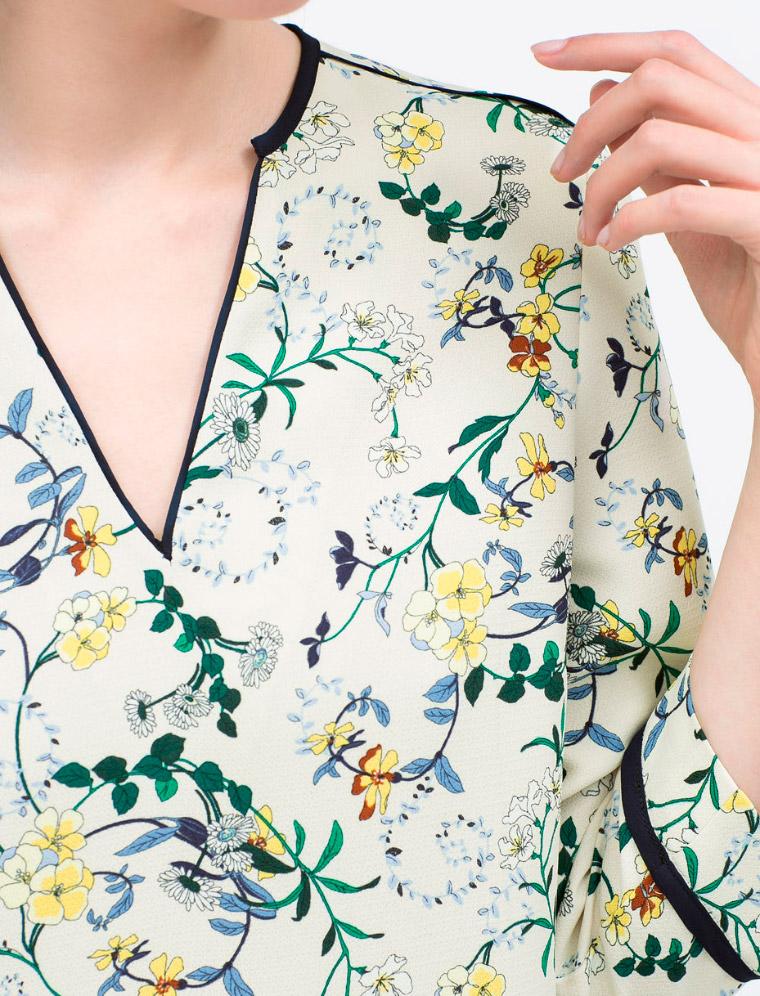 Vestidos Zara de estilo retro