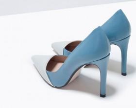 Zapatos de salón Zara en dos colores