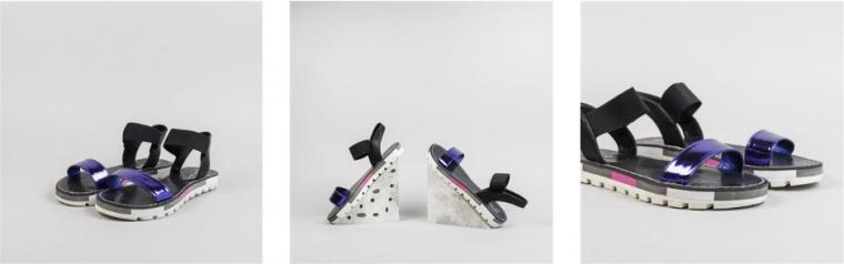 Originales sandalias de cuero